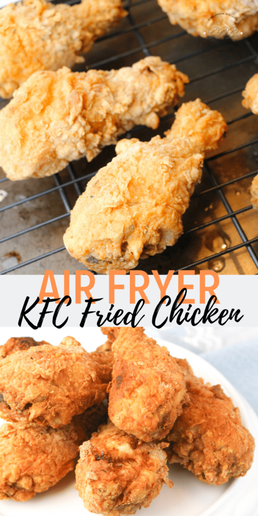 10 Easy Air Fryer Recipes; here are quick and easy air fryer meals! Healthy and delicious! Air Fryer KFC Fried Chicken Copycat