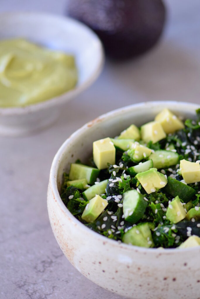 10 salad recipes for fast weight loss: Green Superfood Salad