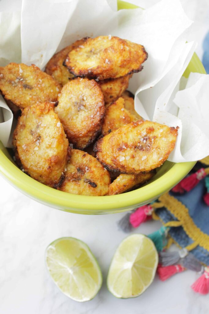 10 Easy Air Fryer Recipes; here are quick and easy air fryer meals! Healthy and delicious! Air fryer plantain chips Recipe