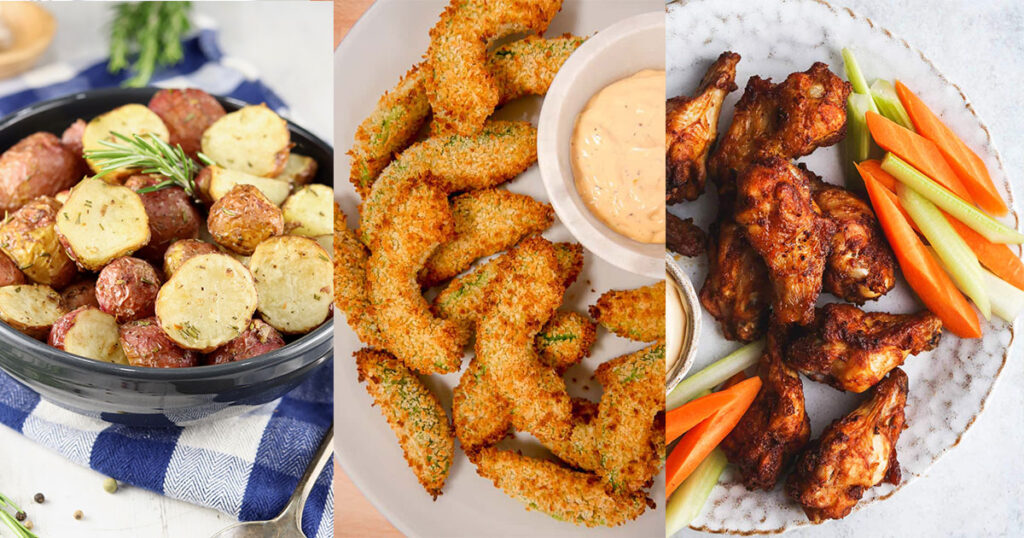 10 Easy Air Fryer Recipes; here are quick and easy air fryer meals! Healthy and delicious! Air fryer Recipe