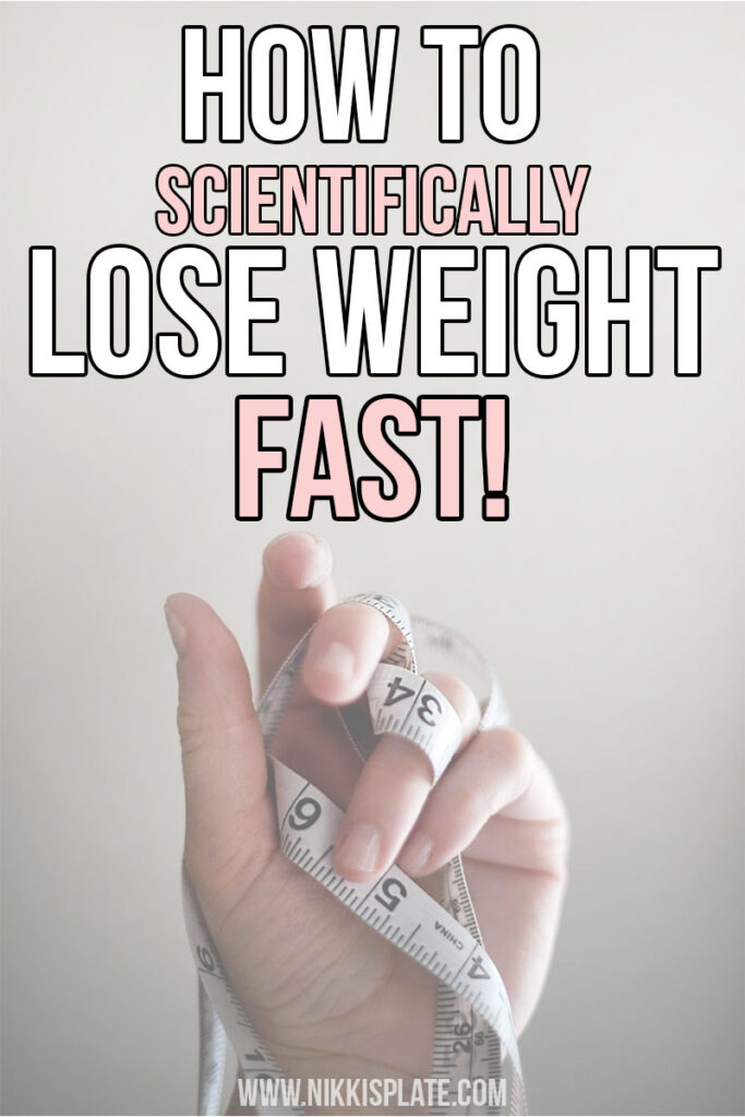 Lose weight fast with these 3 Simple Steps! Scientific facts used to back up these steps to ensure your weight lose journey success!