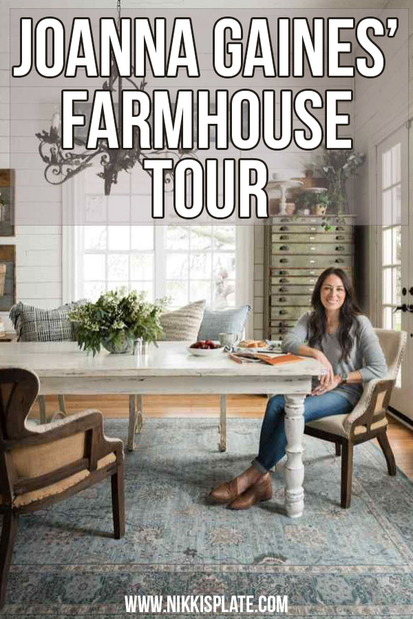 Joanna Gaines Full Farmhouse Tour: Entire look inside Chip and Joanna Gaines's home