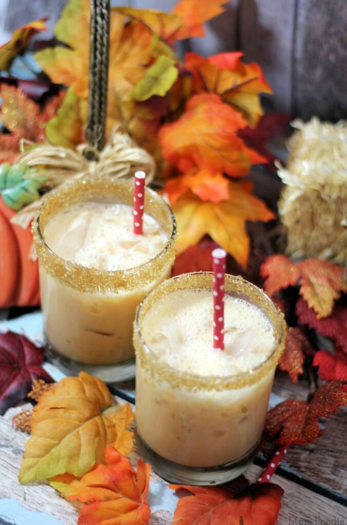 Nutty Pumpkin Cocktail - 15 Delicious Pumpkin Drinks for Foodies; Easy and tasty fall drinks to sip on during the autumn season!