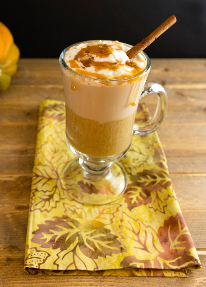 Pumpkin Caramel Latte Low Carb - 15 Delicious Pumpkin Drinks for Foodies; Easy and tasty fall drinks to sip on during the autumn season!
