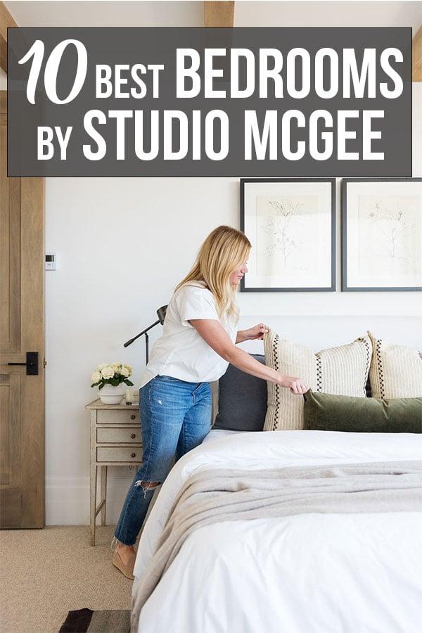 Bedrooms by Studio McGee
