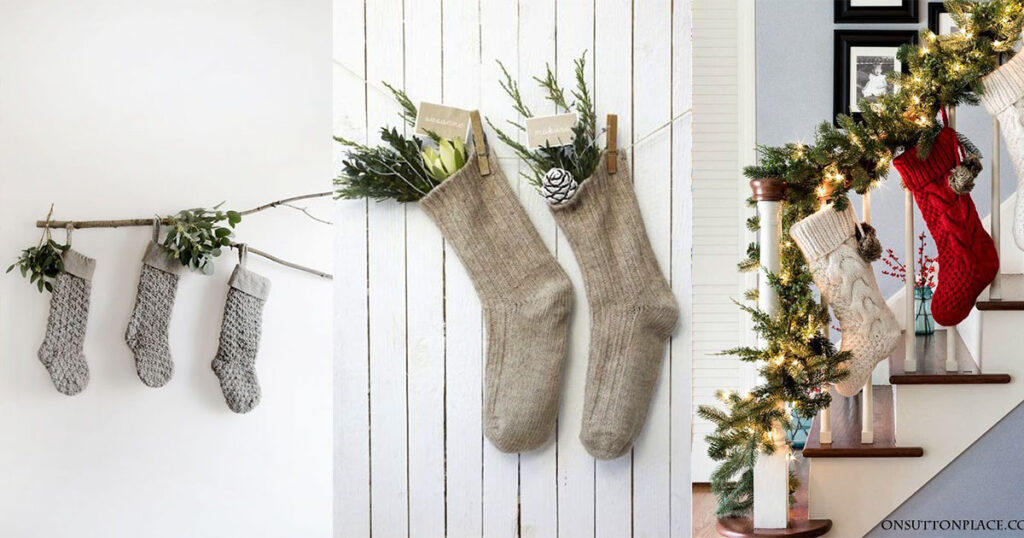 Where to Hang Stockings if You Don't Have a Fireplace; Christmas Decorations,