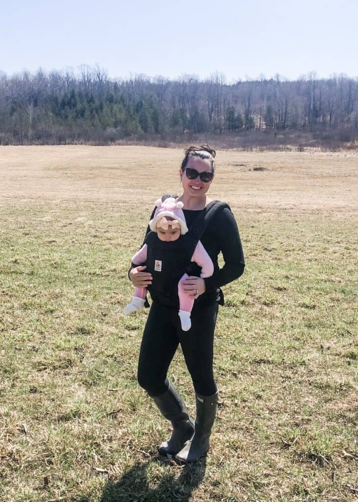 How To Lose Weight After Having A Baby: Everything I Did to Loose 40 Pounds Postpartum; Tips and easy ways to loose baby gains! #weightloss