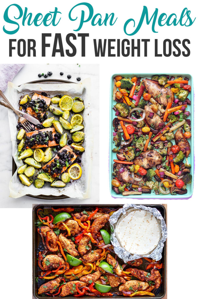 Sheet Pan Meals for Fast Weight Loss