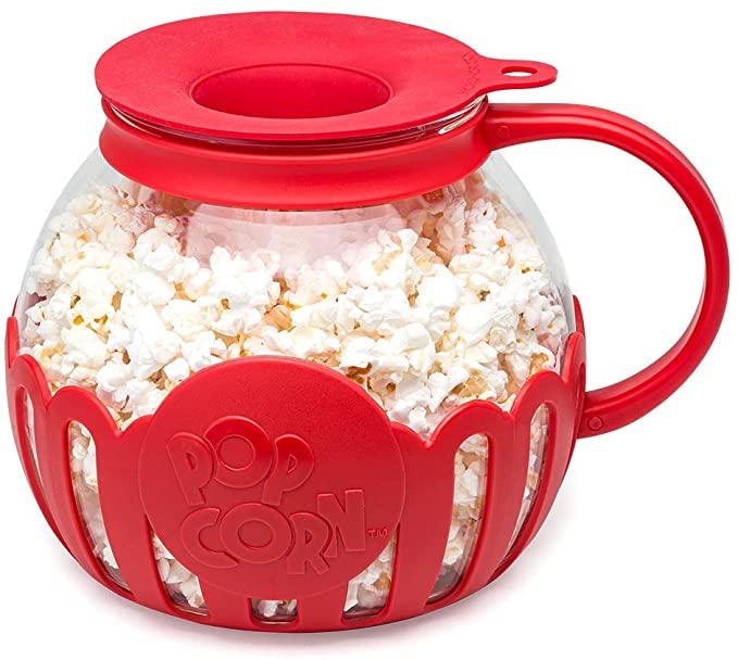 microwave popcorn maker - kitchen essentials from amazon