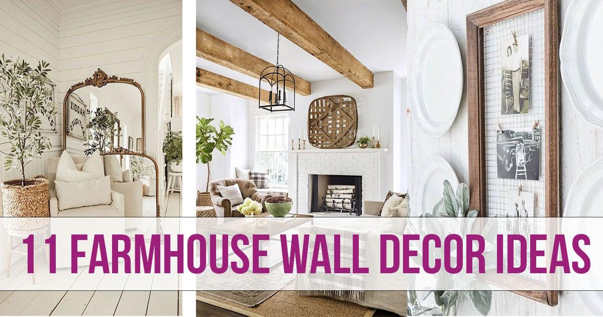 11 Farmhouse Wall Decor Ideas Nikki S Plate Blog