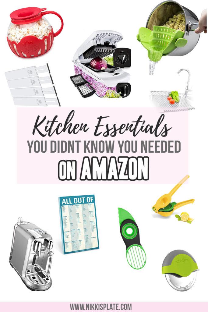 kitchen essentials from amazon