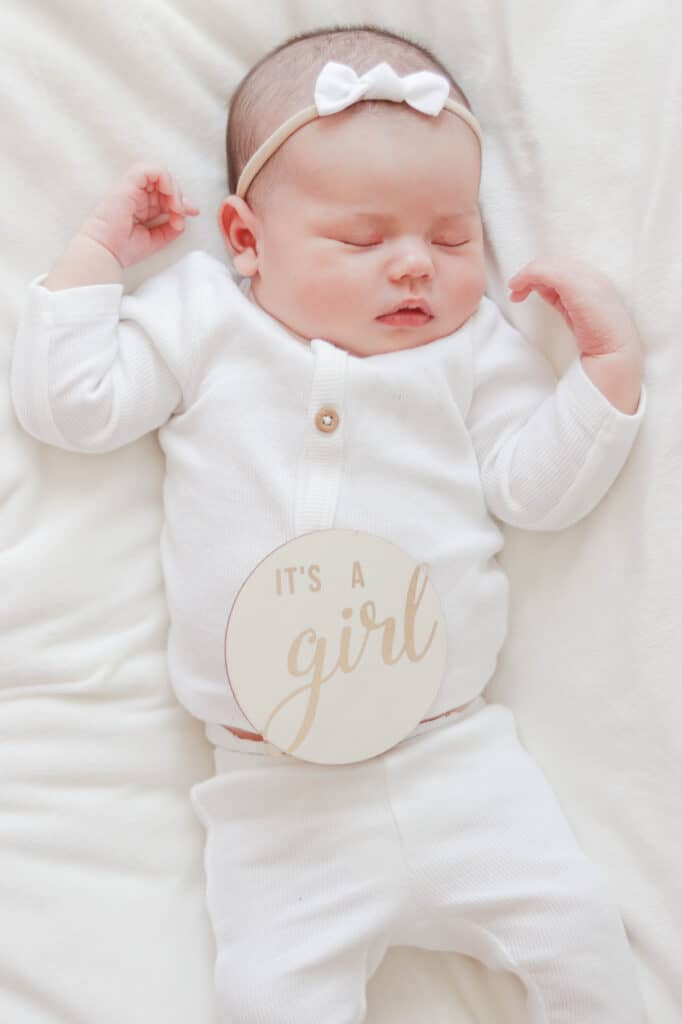 My Second Natural Birth Story; Here is the birth story of my second born daughter, arriving 9 past her due date!