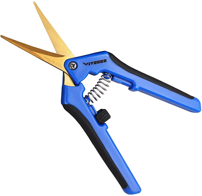 gardening must haves - hand pruner, gardening scissors