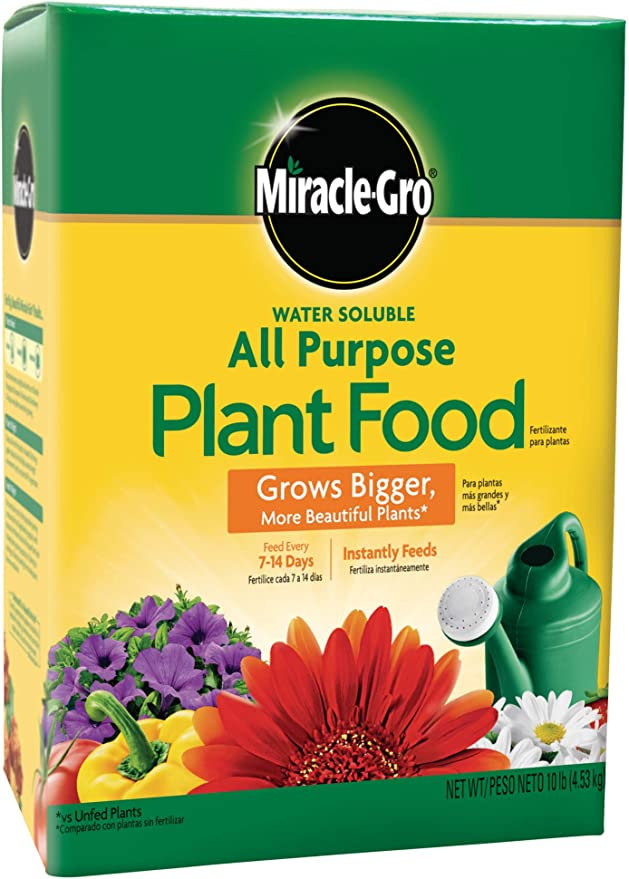 gardening must haves - miracle-gro plant food