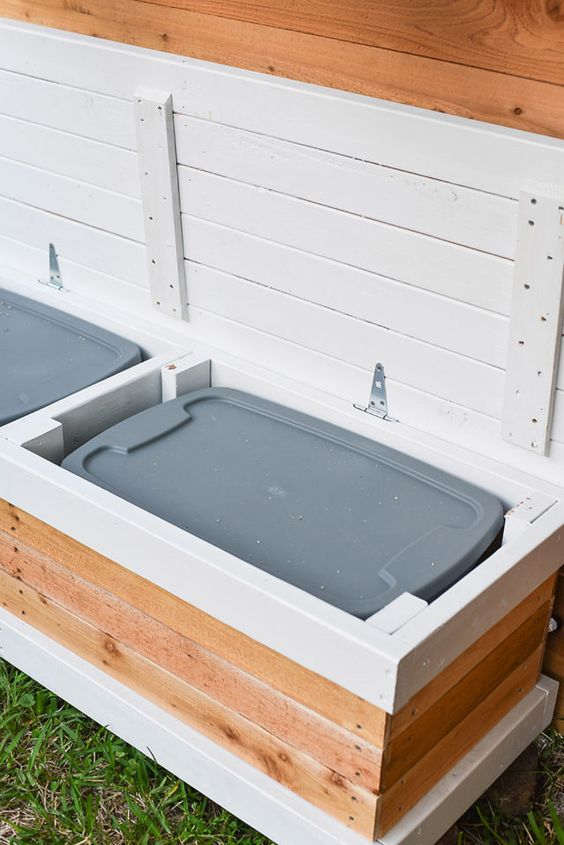 Tips for Styling your Deck this Summer; outdoor storage, deck boxes, waterproof deck bin